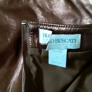 Hugo Buscati for Victoria's Secret Skirts - New Hugo Buscati Genuine Leather Pencil Skirt 4